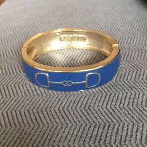 Jewelry - Blue and gold cuff